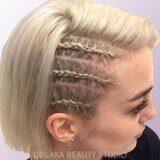 Плетение волос косой. Плетение кос спб
