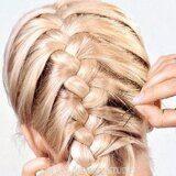 Коса колосок. Плетение волос косой Санкт-Петербург.